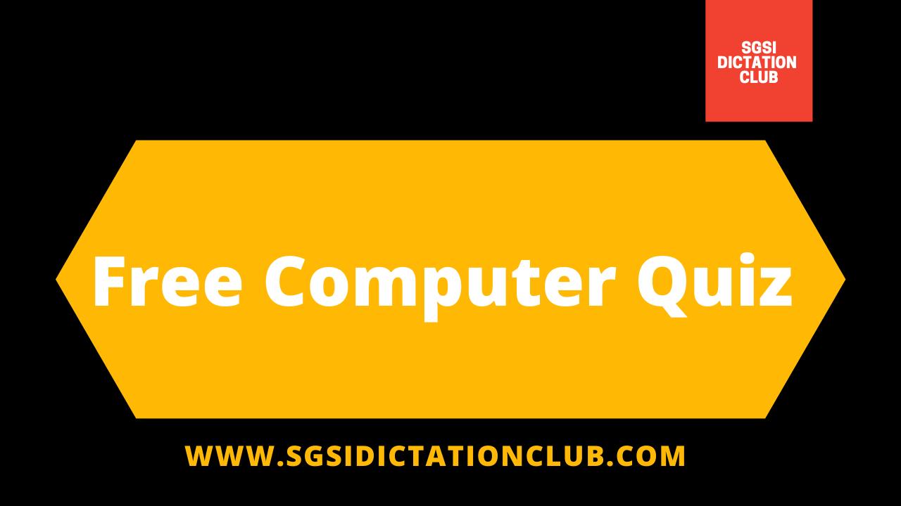 Free Computer Quiz 2