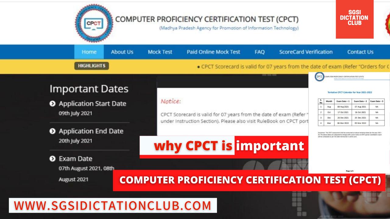 IT Certification CPCT